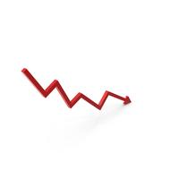 Arrow Graph Down PNG & PSD Images