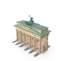 Brandenburg Gate Triumphal Arch PNG & PSD Images