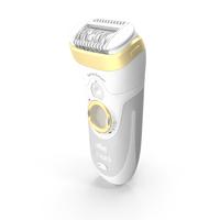 Braun Epilator Silk Epil 9 SensoSmart Gold PNG & PSD Images
