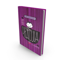 Childrens Book Dracula PNG & PSD Images
