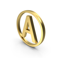 Adult A symbol Logo Icon PNG & PSD Images