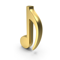 Eighth Note Symbol Logo Icon PNG & PSD Images