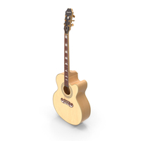 Classical Acoustic Guitar PNG & PSD Images