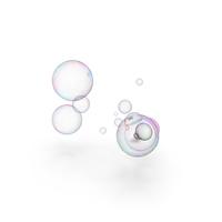 Colorful Soap Bubbles PNG & PSD Images
