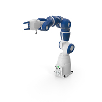Compact Collaborative Robot PNG & PSD Images