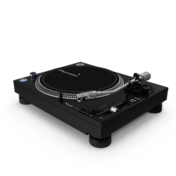 DJ Turntable Pioneer PLX 1000 PNG & PSD Images