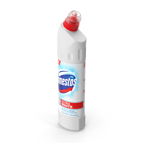 Domestos Toilet Cleaner Bleach Ultra White PNG & PSD Images