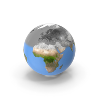 Earth Stylized PNG & PSD Images