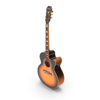 Electro Acoustic Guitar Epiphone PNG & PSD Images
