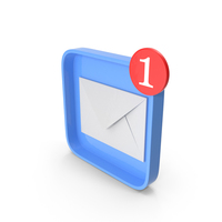 Email Notification Icon PNG & PSD Images