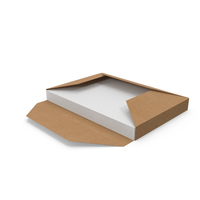 Craft Folder Sleeve with Papers PNG & PSD Images