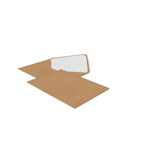 Two Craft Envelopes PNG & PSD Images
