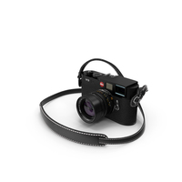 Leica M9 Black PNG & PSD Images