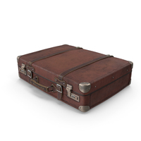 Old Suitcase With Cash PNG & PSD Images