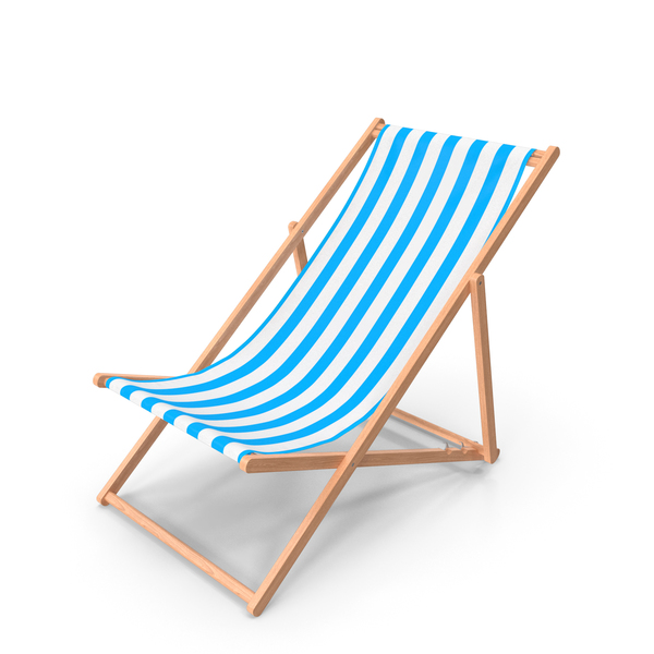 Folding Wooden Beach Chair PNG & PSD Images