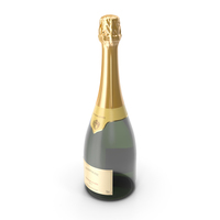 French Champagne Bottle Generic PNG & PSD Images
