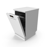 Front Control Dishwasher Machine PNG & PSD Images