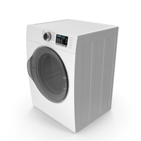 Front Load Dryer Generic PNG & PSD Images