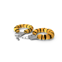 Fuzzy Tiger Handcuffs Fur PNG & PSD Images