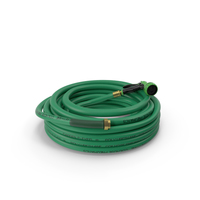 Garden Hose and Trigger Nozzle PNG & PSD Images