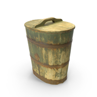 Wooden Vat Closed PNG & PSD Images