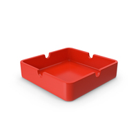 Ashtray Red PNG & PSD Images