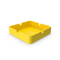 Ashtray Yellow PNG & PSD Images