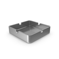 Ashtray Silver PNG & PSD Images