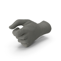 Glove Thumb Object Hold Pose PNG & PSD Images