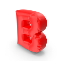 Balloon Letter B PNG & PSD Images