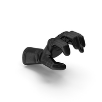 Glove Leather Object Grip Pose PNG & PSD Images
