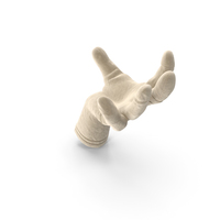 Glove Suede Large Sphere Object Hold Pose PNG & PSD Images