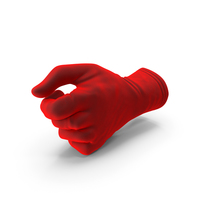 Glove Velvet Thumb Object Hold Pose PNG & PSD Images