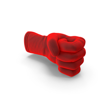 Glove Velvet Narrow Pole Object Hold Pose PNG & PSD Images