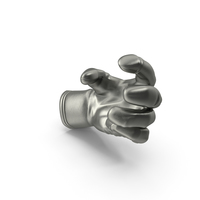 Glove Metalic Small Sphere Object Hold Pose PNG & PSD Images