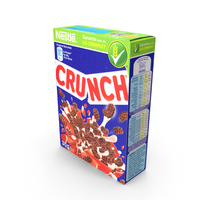 Cereal Box - Crunch PNG & PSD Images