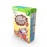 Cereal Box - Cookie PNG & PSD Images
