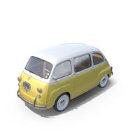 Fiat 600 Multipla 1957 PNG & PSD Images