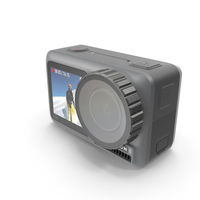 DJI Osmo Action Camera PNG & PSD Images