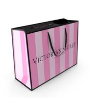 Victoria Secret Shopping Bag PNG & PSD Images