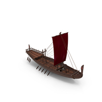 Ancient Egyptian Merchant Ship PNG & PSD Images