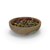 Full Wooden Bowl PNG & PSD Images