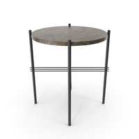 GUBI TS Round Coffee Table PNG & PSD Images
