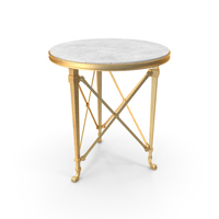 Cannes Gueridon Table PNG & PSD Images