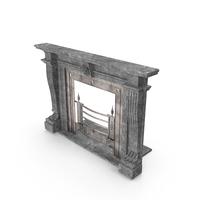 Jamb Antique Fireplace PNG & PSD Images