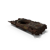 Damaged Tank PNG & PSD Images