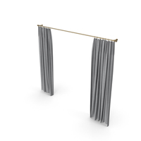 Grey Curtains PNG & PSD Images