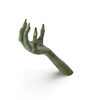 Creature Hand Upwards Object Hold Pose PNG & PSD Images
