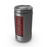 Metallic Sci Fi Container PNG & PSD Images