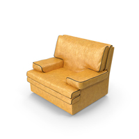 Yellow Armchair PNG & PSD Images